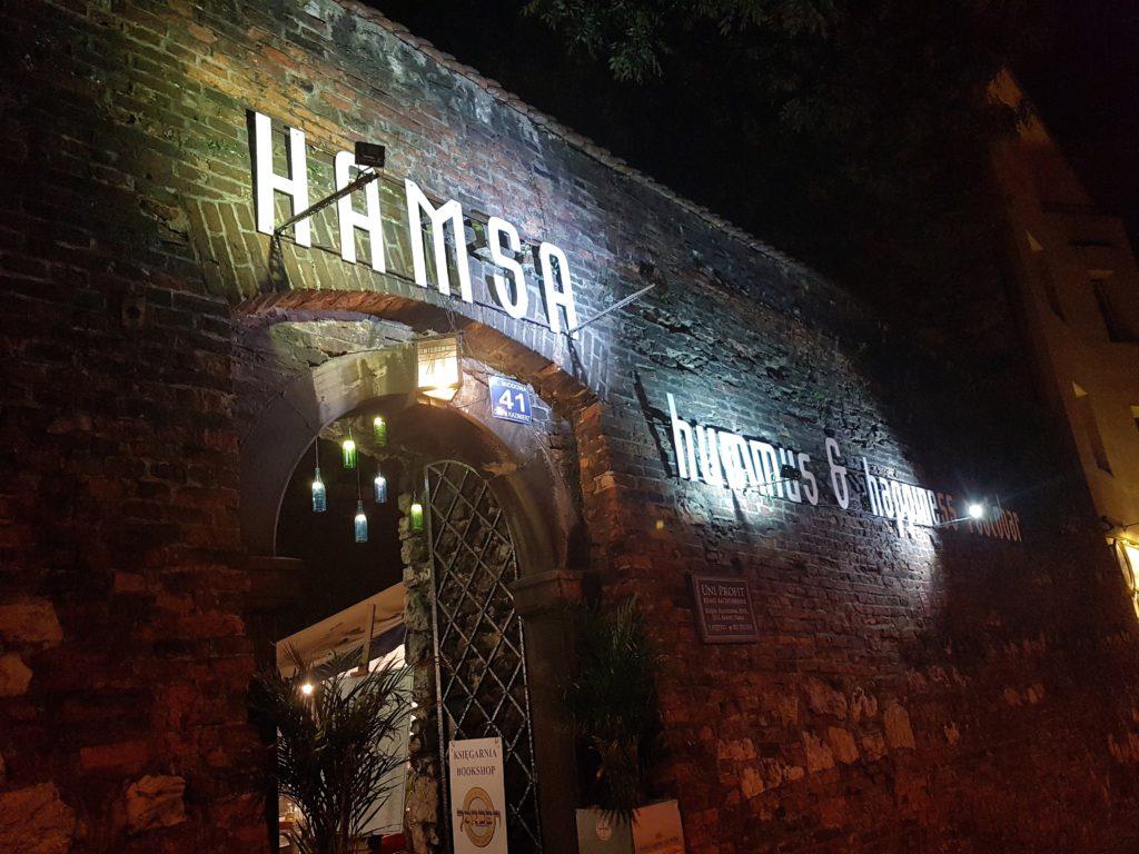 hamsa kraków restauracja